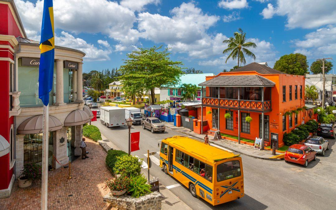 Barbados, Holetown. Image of the location of our cigars shop in Limegrove shopping centre, Barbados